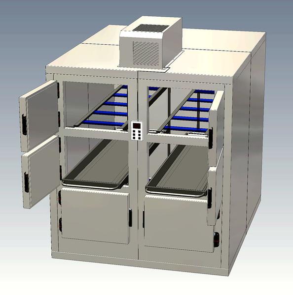 Einzeltüre Leichenkühlschrank und Gefriergeräte